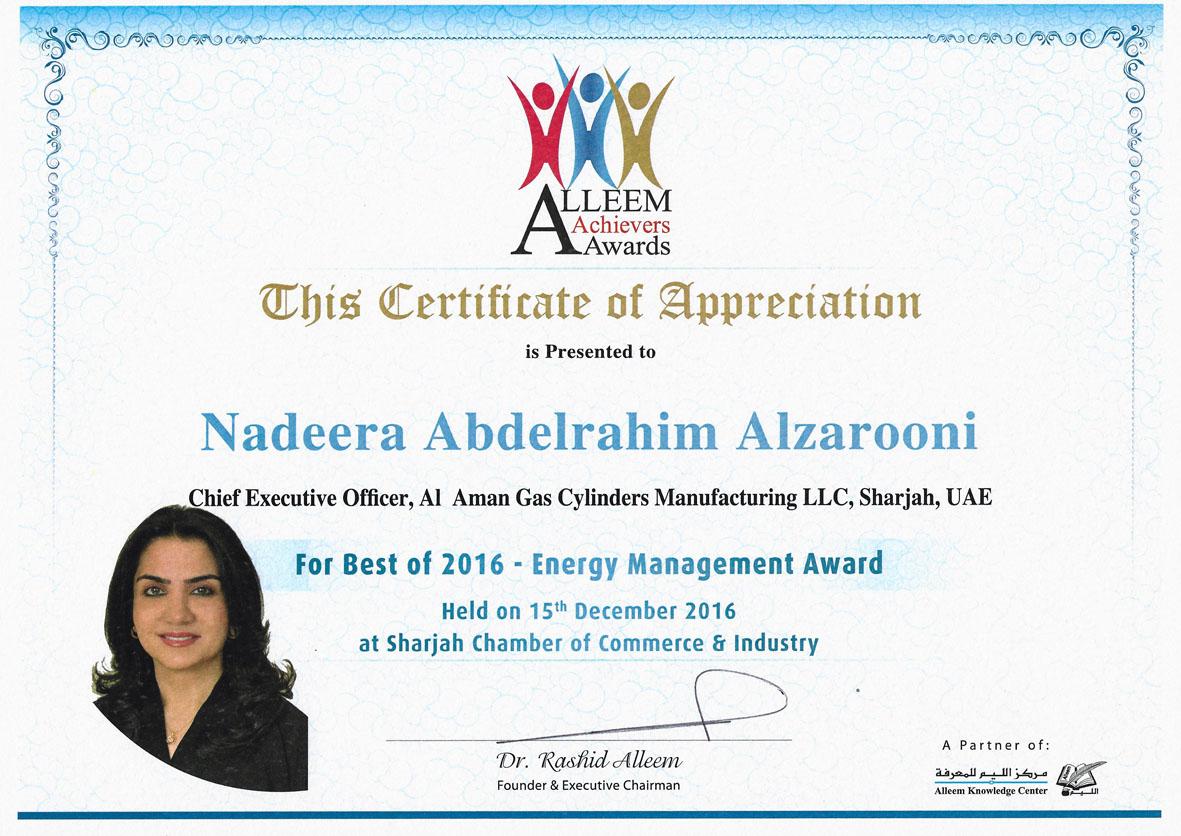 Nadeera Aleem Achievers Award1