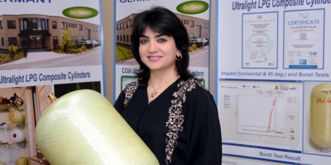 إماراتية تنجح في عقد صفقة ألمانية لتشييد مصنع لأسطوانات الغاز بالشارقة